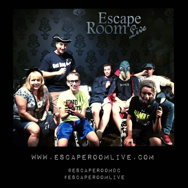 Escape Room Live Alexandria Virginia Haunted Houses