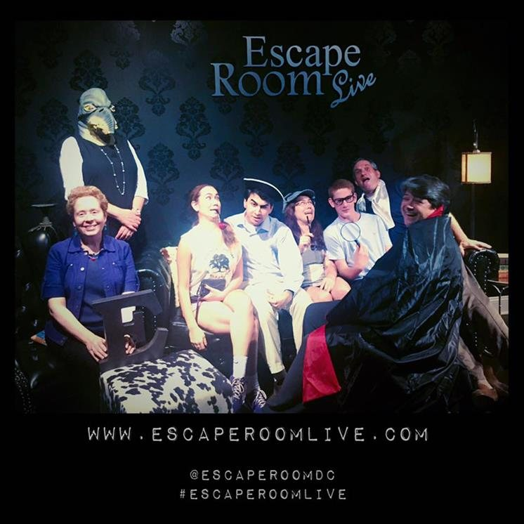 Escape Room Live Alexandria Virginia Haunted Houses