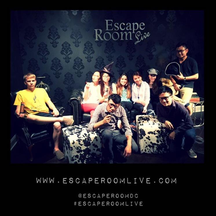 Escape Room Live Alexandria Parking
